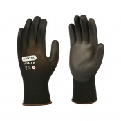 Skytec Basalt Black PU Gloves