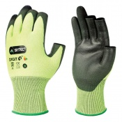 Skytec Green Digit Fingerless Level 5 Cut Resistant Gloves