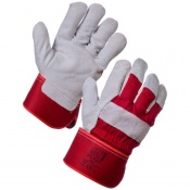 Supertouch Elite Leather Rigger Gloves with Safety Cuff 21123