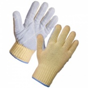 Supertouch Kevlar Gloves Chrome Patch 3031