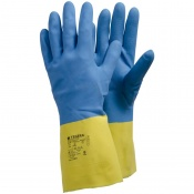 Ejendals Tegera 2301 Latex Chemical Resistant Grip Gauntlets