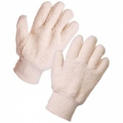 Supertouch Terry Cotton Gloves 24oz Knit Wrist 28103