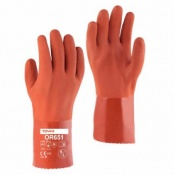 Towa OR651 30cm PVC-Coated Oil-Resistant Gloves