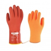 Towa OR653 Thermo 30cm PVC-Coated Oil-Resistant Gloves