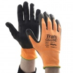 TraffiGlove TG300 Mighty Polyurethane Cut Level 3 Handling Gloves