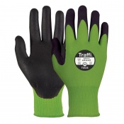 TraffiGlove TG535 Secure Nitrile Foam Plus Cut Level C Safety Gloves