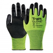TraffiGlove TG562 Dynamic Polyurethane Coating Cut Level 5 Safety Gloves