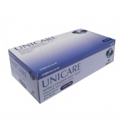 Unicare Blue Powder-Free Textured Nitrile Gloves UCN120