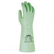 Uvex Rubiflex S 35cm Reinforced Chemical-Resistant Gloves NB35S