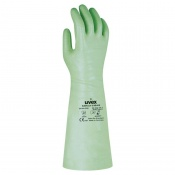 Uvex Rubiflex S 60cm Reinforced Chemical-Resistant Gloves NB60S