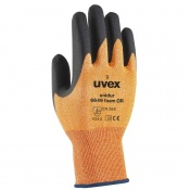 Uvex Unidur 6649 Orange Foam Cut Resistant Gloves