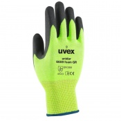 Uvex Unidur 6659 Green Foam Cut Resistant Gloves