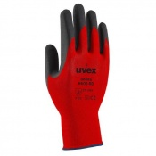 Uvex Unilite Foam RD Red Nitrile-Coated Gloves 6605