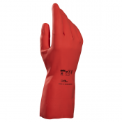 Mapa Vital 180 Chemical-Resistant Oil Use Red Gauntlet Gloves