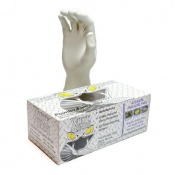 White Mamba Disposable Latex Gloves BX-WMG
