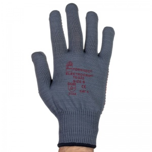 Tornado Electrogrip PVC Dot Grip Gloves TEG20