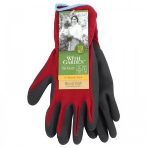 Towa Landscape Soft and Care TOW595 Burgundy Gardening Gloves