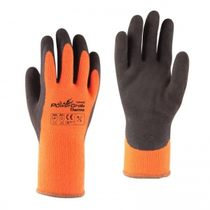 Towa PowerGrab Thermo TOW335 Thermal-Lined Gloves with Orange Liner