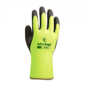 Towa Thermal Soft and Tough TOW375 Lemon Yellow Gardening Gloves