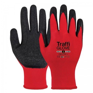 TraffiGlove TG1050 Centric Latex-Coated Wet Grip Gloves