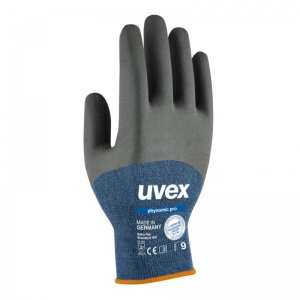 Uvex 60062 Phynomic Pro Dirt Resistant Safety Gloves