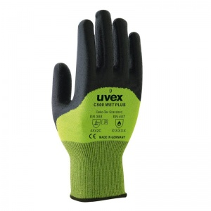 Uvex C500 Wet Plus Cut Resistant Gloves