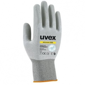 Uvex Phynomic ESD Electrostatic Conductive Gloves