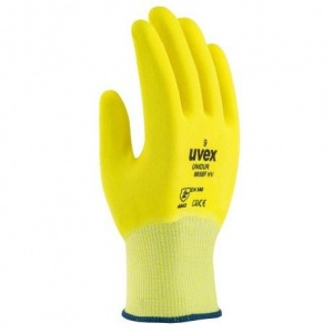 Uvex Unidur Full Nitrile-Coated Hi-Vis Grip Gloves 6655F