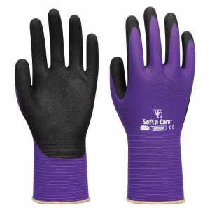Towa Landscape Soft and Care TOW598 Purple Gardening Gloves