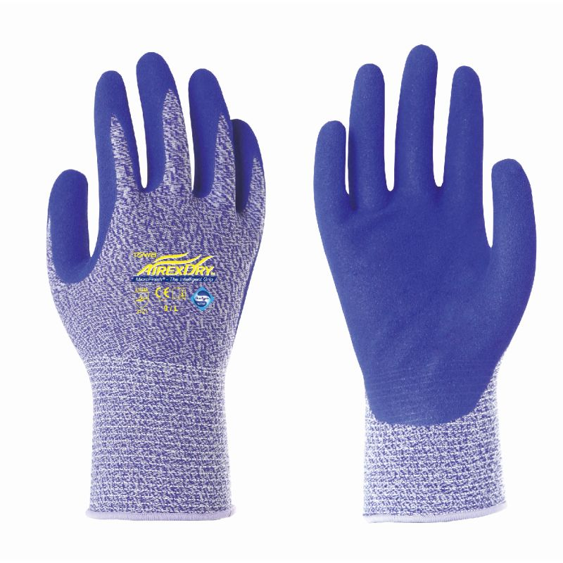 Towa AirexDry TOW530 Nitrile-Coated Gloves