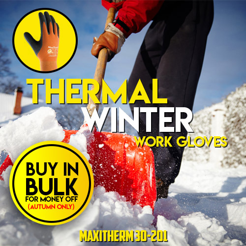 Save Money This Winter with the MaxiTherm 30-201 Gloves