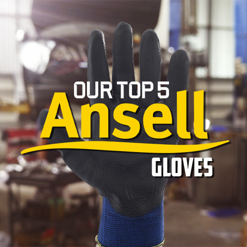 Top 5 Ansell Work Gloves